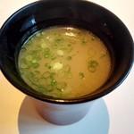 鳥焼き・おでん こう楽 - 鶏スープ