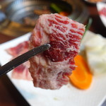 焼肉ダイニング 王道プレミアム - お肉 アップで♪