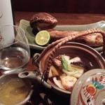 からふぇDINING - 松茸土瓶蒸し