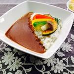 キズナカフェ - 彩り野菜カレー