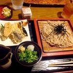 太船 - 天ざる蕎麦