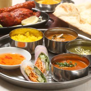 本場のシェフが作る本格的なネパール料理を栄で♪