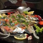 ムーンチャイルド - 酢〆秋刀魚のマリネ