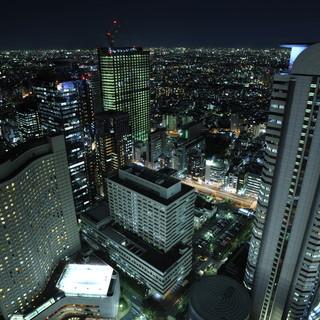 新宿の夜景を見ながら、ひと時の喜びをお楽しみください