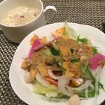 57100516 - スープ サラダ