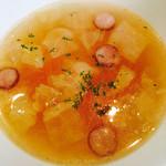 欧風カレー食堂 jizi ジジ - 野菜高騰の為の野菜スープw