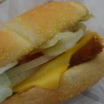バーガーキング - スパム&チーズ、これは納得。