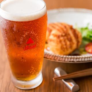 日本酒以外のドリンクも選りすぐりをご用意。