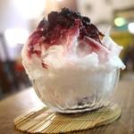 ボンベイバザー - かき氷(ブルーベリー)