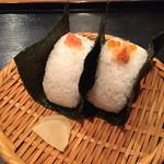 おひつ膳 田んぼ - 明太子と鮭いくら