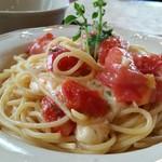 GATTI - フレッシュトマトとモッツァレラチーズのパスタ