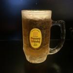 ホルモンRED - 生ビール