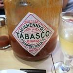 ビンチェ - 巨大なタバスコ