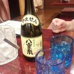 願寿亭 - 「八重泉30°(ボトル)」(2782円)