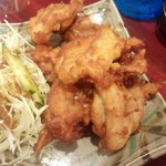願寿亭 - 「鶏の唐揚げ」(545円)