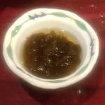 願寿亭 - 「沖縄そば定食」(1029円)セットのもずく酢