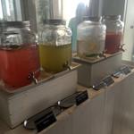 サザンビーチカフェ - モーニングのフリードリンク