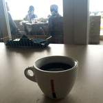サザンビーチカフェ - モーニングのオーガニックコーヒー