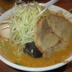 57112132 - H28.10.06昼『味噌ラーメン』+『煮玉子』