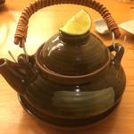 食 乃口 - 松茸の土瓶蒸し