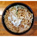 大むら食堂 - 「中華・多油・麺」… 極太です(2016.10)