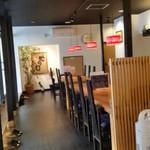 蛇の目鮨 - 蛇の目鮨さんの入口から店内の様子