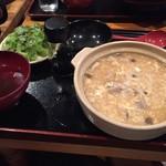 ほたる - 【ランチ】雑炊(比内地鶏) 800円(税込)