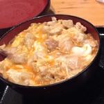 ほたる - 【ランチ】比内地鶏親子丼 980円(税込)・アップ