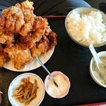 中華料理 順和園 - 唐揚げ定食