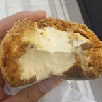 チーズケーキング エフ - フロマーシュー(断面)