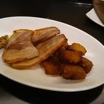 Large - 本日のおすすめ、自家製ベーコンとジャガイモのソテー