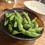 粋季 - 出汁醤油煎り枝豆