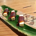 粋季 - 炙り奈良漬とクリームチーズ