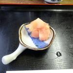 八王子総合卸売センター 市場寿司 たか - ガリ