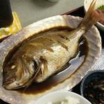 福魚食堂 - 真鯛の煮つけ