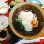 三輪山本 売店 - 料理写真:ぶっかけそうめん