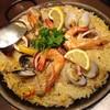 釧路ばる - 料理写真:やっぱり見た目ゴージャス♪道産魚介のパエリア1490円?