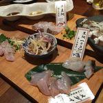 鯛バル - (2016.8)生鯛刺身食べ比べ