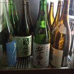 焼酎居酒屋 月の中 - (2016.8)日本酒