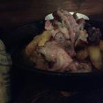 ラブワイン - 軽く燻製した豚スペアリブのオーブン焼き