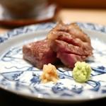 炭火割烹 いふき - 料理写真:但馬牛の炭火焼