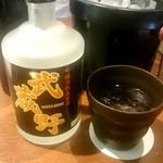 ひびき黒豚劇場 - 吟醸粕取り焼酎 武蔵野ボトル:3,800円