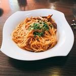ORIENTAL KITCHEN ITALIANA - 渡り蟹のトマトクリームソースパスタ