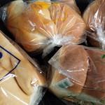 パンのペリカン - 1.5斤 山型 ロールパン