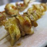 ハルミ食堂 - 串焼きつぶ貝アップ