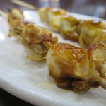 ハルミ食堂 - 串焼きホタテアップ