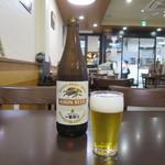 ハルミ食堂 - ビール(一番搾り中瓶)