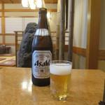 かいしま - アサヒスーパードライの中瓶