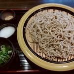 そば茶屋菖蒲庵 - ざる蕎麦♪
