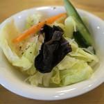 サリサリカリー - サラダは軽めのマリネ